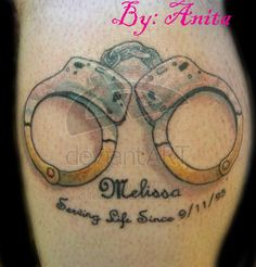 the 12 best tattoo handcuffs images on pinterest tattoo rh pinterest ie handcuff tattoos designs handcuff tattoo stencils