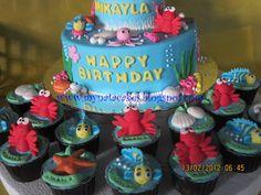 Ariel cakes | Mynata Cakes: Princess ariel birthday cake for mikayla