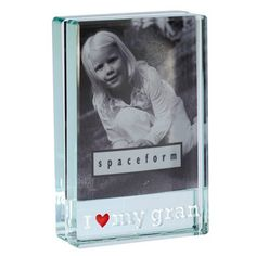 'I Love My Gran' Dinky Frame from Spaceform