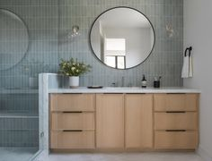 Ultra Modern Homes, Upstairs Bathrooms, Cabinet Styles, Vanity Sink, Bathroom Inspiration, Bathroom Ideas, Amazing Bathrooms, Open Shelving, White Walls
