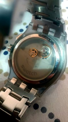 Swatch automatic chronograph 2008