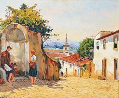 Título: Dou-te a minha vez, 1945 (Figueiró dos Vinhos, Portugal) Autor: José de Campos Contente (1907-1957)