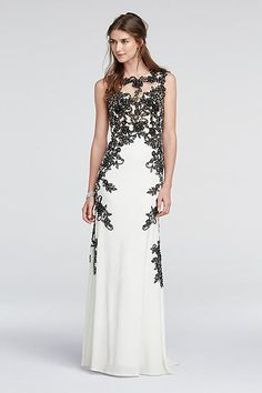 Lace Cap Sleeve Prom Dress with Illusion Detail 1424