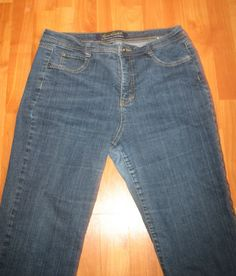 The Perfect Fit by Gloria Vanderbilt  $8.00 on ebay!  Brand: Gloria Vanderbilt  Size: 16P, 16 Petite  Style: Boot Cut  Material: 98% cotton 2% spandex  Details: Button back pockets  Condition: Gently used preowned jeans