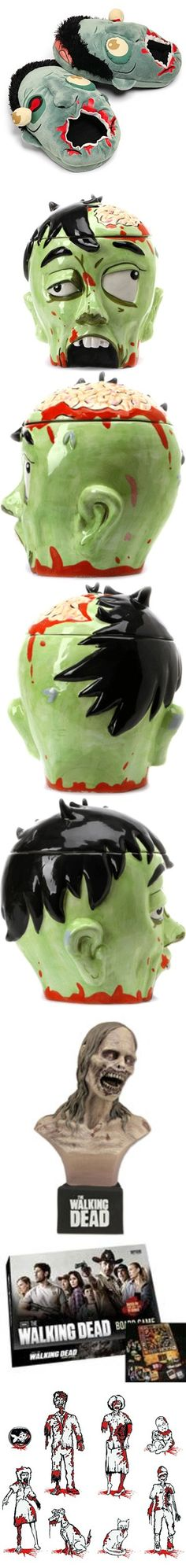 Looking for a gift for your favorite zombie (or Walking Dead) fan? Mmmm, brains.