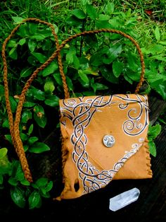 Celtic Tree of Life  Rustic leather bag by EireCrescent on Etsy, $57.99