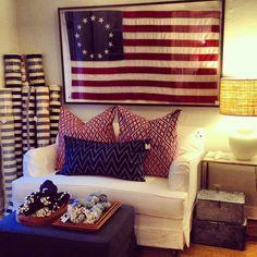 Bixby&BallLove the flag