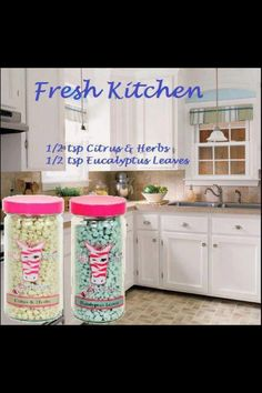 Fresh Kitchen  Eucalyptus Leave & Citrus & Herbs ~Pink Zebra~Sprinkles~Recipe~ www.pinkzebrahome.com/DreamPZwithAshley