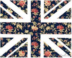 Floral Union Jack.