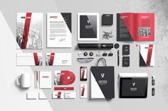 Check out Branding elements mock-ups by itembridge creative store on Creative Market