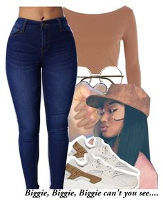""""""""""" by majiah-boo ❤ liked on Polyvore featuring River Island, ZeroUV and NIKE"""