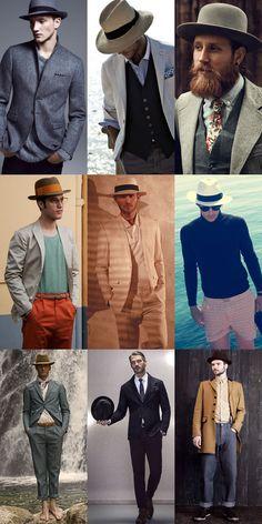 2dc76b92 Men's Wide Brim Hat Outfit Inspiration Lookbook #bigmenshats #bighats  #menshats