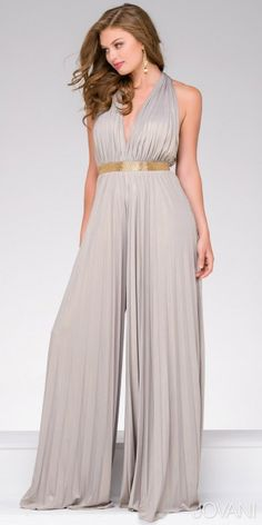 1da01f83fc6c Be the star of the night in this stunning Wide Leg Open Back Jumpsuit by  Jovani