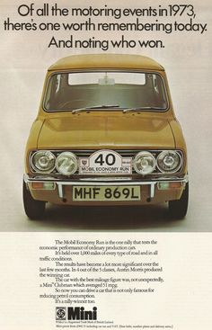 The history of one of the world's greatest cars. Classic Mini, Classic Cars, Mini Clubman, Commercial Vehicle, Car Photography, Vw Beetles, Mini Me, Old Cars, Motor Car