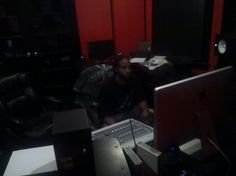 In the Lab Crankin out those Hits!!