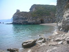 Kaladi, Kithira island by june_godiva, via Flickr Greek Islands, Beaches, Beautiful Places, June, Explore, Water, Outdoor, Viajes, Water Water