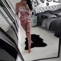 Women's Clothing Dynamic Sexy In Europe And The Exclusive Custom Sequins Long-sleeved Elastic Nightclubs Clothing Siamese Club Jumpsuit Sexy Bodysuits