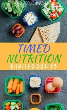 A key part of the success of the 80 Day Obsession Workout is the Timed Nutrition Plan that takes Beachbody portion control containers to the next level for maximum weight loss. 80 Day Obsession Tips | Timed Nutrition Tips | 21 Day Fix Container Counts | B #nutritionforweightlossmealprep #workoutnutritionplan