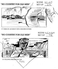 Storyboard - No country for old men