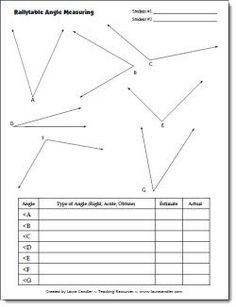 Worksheet Measuring Angles With A Protractor Worksheets common cores student centered resources and math worksheets on partner angle measuring activity ccss measure angles in whole number degrees using a protractor sketch of specified measur