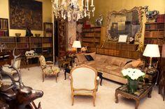 "Coco Chanel's apartment, ""above the shop"", Rue Cambon, Paris."