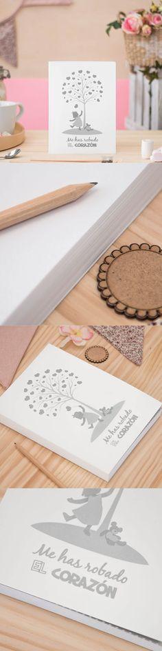 cuaderno cartoné - cuadernos bonitos