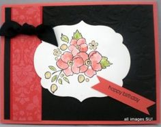 Stampin Up Bordering on Romance with Artistic Etchings!