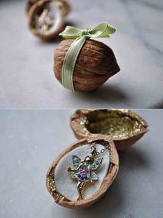 This fairy walnut will contain a magical gift. Source: Curly Birds