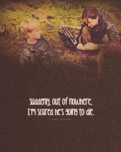 The Hunger Games Igrzyska Śmierci katniss and peeta :)