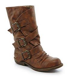 Blowfish Alms Buckle Boots   love  dillards!