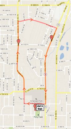 Great running route in American Fork, Utah. Freeze Your Cookies Off 5k Saturday, Nov. 23, 9am. Cookies&Milk, shirts, and free photos. www.cookieathlete.com/freeze-your-cookies-off/