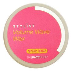 TheFaceShop-Stylist-Volume-Wave-Hair-Wax-80ml Price:US $6.08 Description: It gives vivid volume to dull hair. Visit: http://www.ebay.com/itm/TheFaceShop-Stylist-Volume-Wave-Hair-Wax-80ml-/330928738097?ssPageName=STRK:MESE:IT