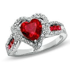 perfect valentines day ring! love that bright red! ♥♥♥♥ ❤ ❥❤ ❥❤ ❥♥♥♥♥