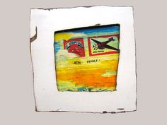 'El Aeroplano-square' made by Heleen van Zantvoort Collage Making, Collages, Collage