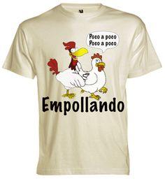 La gallina y el gallo em pollamdo