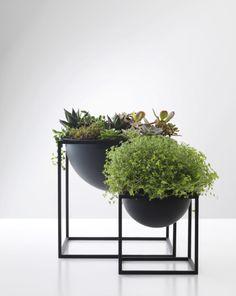Kubus Black Steel Metal Scandinavian and Danish Fruit Bowl- By Lassen. Available online now!