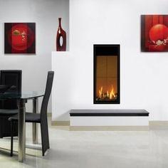 Gazco Studio 22 Glass Fronted Balanced Flue Gas Fire