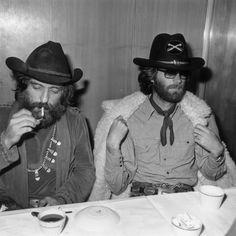 Dennis Hopper & Peter Fonda, 1971. Photographed by George Stroud