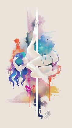 Omg..... This kind of tattoo.... I wanr anothet watercolor tattoo in pole style!