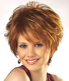 Hairstyles For Women Over 40 That Look Great – HerHairdos Hairstyles For Fat Faces, Short Hairstyles Over 50, Girl Hairstyles, Pretty Hairstyles, Stacked Hairstyles, Glasses Hairstyles, Celebrity Hairstyles, How To Curl Short Hair, Very Short Hair