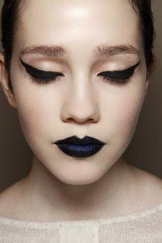 make up inspirations for Halloween / inspiracje, makijaż na Halloween