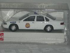 Busch H0 45011 CHEVROLET BEL AIR Military Police US Army Chevy HO 1:87 OVP Box
