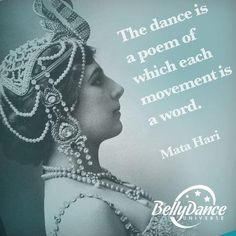 Mata Hari quote