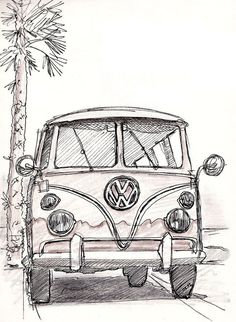 Vw Bus Art Vw Bus vw bus art vw bus vw bus vw bus camper vw bus interior vw bus drawing vw bus painting vw bus tattoo vw bus art vw bus photoshoot Vw Bus Art Vw Bus What Makes a Supercar a Supercar The term supercar appears to have first hellip Pencil Art Drawings, Art Drawings Sketches, Tattoo Drawings, Vw Tattoo, Bus Drawing, Auto Girls, Bus Art, Cute Car Accessories, Arte Sketchbook