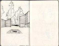 NOTE A THING - Muuratsalo experimental house, Alvar Aalto.