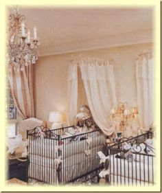 Your best source of twin nursery design inspiration! Lots of nursery pictures including a celebrity baby nursery or two!