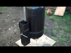 Mini Rocket stove heater- heat greenhouse