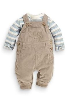 Buy Cord Dungarees And Bodysuit Set (0-18mths) online today at Next: United States of America