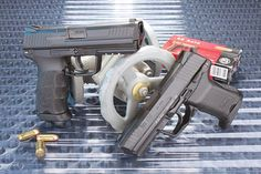 Heckler and Koch HK45 9mm  Speed up and simplify the pistol loading process  with the RAE Industries Magazine Loader. http://www.amazon.com/shops/raeind