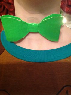 Duct tape bow tie.